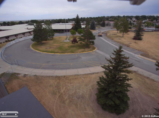 Webcam shows views of Kelly Walsh campus during construction.