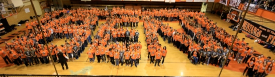 Mustangs Stand for Ben!
