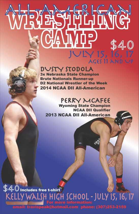 Wrestling Camp Poster