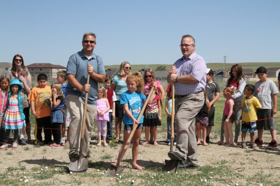 Evansville Elementary breaks ground on new greenhouse